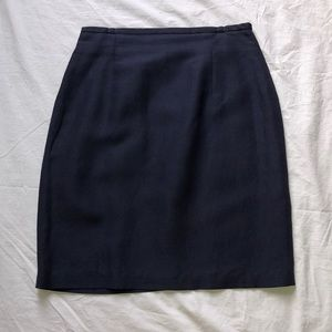 Navy blue The Limited skirt